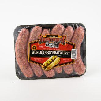 World's Best Brats 24 oz product image