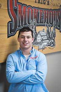 Image of Dalton Tietsort with Trig's Smokehouse in Rhinelander WI