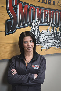 Image of Jackie Treder with Trig's Smokehouse